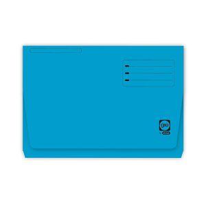 Paquete 25 subcarpetas bolsillo gio pocket folio azul