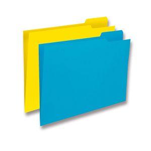 Subcarpetas Gio Pestaña derecha Folio Amarillo caña Pack 50u.